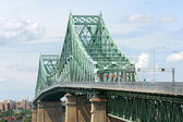 Jacques Cartier bridge — Stock Photo