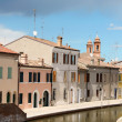 Glimpse of Comacchio, Italy — Stock Photo