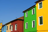 Colorful house on Burano Island, Venice — Stock Photo