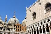 Palazza Ducale and Basilica of Saint Mark, Venice — Stock Photo