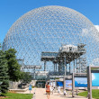 Montreal Biosphere in Canada - Stock Photo