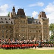 Changing of the guard in Ottawa, Canada — Foto de Stock