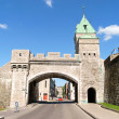 Stock Photo: Porte Saint Louis in Quebec City, Canada