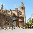 Seville Cathedral and La Giralda belltower — Stock Photo #15436839
