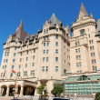 Stock Photo: Chateau Laurier Hotel in Ottawa