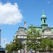 Glimpse of Old Montreal, Canada — Stock Photo