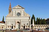 Church of Santa Maria Novella in Florence — Stock Photo