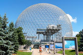 Montreal Biosphere in Canada — Stock Photo