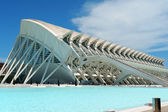 Museum of Sciences Principe Felipe in Valencia — Stock Photo