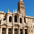 Basilica of Saint Mary Major in Rome — Stock Photo #19282033