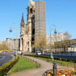 Kaiser Wilhelm Memorial Church in Berlin, Germany — Stock Photo #19283133
