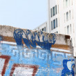 Постер, плакат: Berlin Wall ruins in Potsdam Square