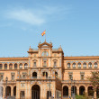 Palacio Espanol in Seville, Spain — Stock Photo