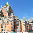 Chateau Frontenac hotel in Quebec City, Canada — Stock Photo