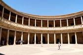 Palais de charles quint à l'alhambra, à grenade, espagne — Photo