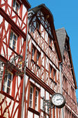 Half-timbered houses in downtown Trier — Stock Photo