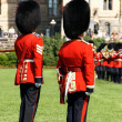 Changing of the Guard in Ottawa, Canada — Stock Photo