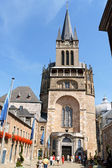 Aachen Cathedral in Germany — Stock Photo