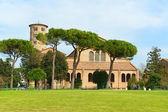 Basilica of Sant'Apollinare in Classe, Italy — Stock Photo
