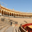 Plaza de Toros in Seville, Spain — Stock Photo #28002781