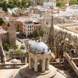 Stock Photo: Glimpse of Seville, Spain