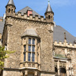 Detail of Aachen Town Hall, Germany — Stock Photo