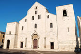Basilica of Saint Nicholas in Bari, Italy — Stock Photo