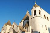 San antonio trullo kerk in alberobello, Italië — Stockfoto