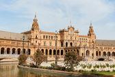 Palacio Espanol in Plaza de Espana, Seville — Stock Photo