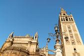 Katedrála v seville. — Stock fotografie