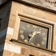 Clock of Aachen Town Hall, in Market Square — Stock Photo #28312179