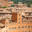 Glimpse of Siena in Italy — Stock Photo