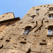 Ancient tower houses in Volterra — Stock Photo
