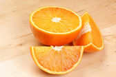 Cut orange — Photo