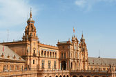 Palacio Espanol in Seville, Spain — Stock Photo