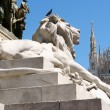 Piazza del Duomo in Milan, Italy — Stock Photo