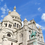 Basilica of the Sacred Heart (Basilique du Sacre-Coeur), Paris, — Stock Photo #34132579