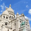 Stock Photo: Basilicof Sacred Heart (Basilique du Sacre-Coeur), Paris,