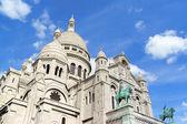 Basilica of the Sacred Heart (Basilique du Sacre-Coeur), Paris, — Stock Photo