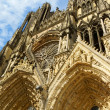 Notre-Dame de Reims Cathedral, France. — Stock Photo