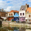 Quai Belu, Saint Leu Quarter in Amiens, France — Stock Photo #41664631