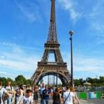 Eiffel Tower in Paris — Stock Photo #44872723