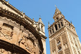 Seville Cathedral, Spain — Stock Photo