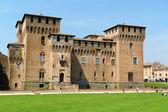 Castello di San Giorgio Palazzo Ducale (Ducal Palace) in Mantua, — Stock Photo