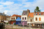 Quai Belu, Saint Leu Quarter in Amiens, France — Stock Photo