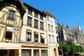 Glimpse of downtown Troyes, France — Stock Photo