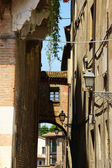 Glimpse of old downtown Mantua, Italy — Stock Photo