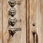 Lion head shaped door bells — Stock Photo #5756813