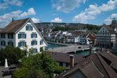 Zurich view — Stock Photo
