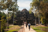 Ruined temple in Angkor — Stock Photo